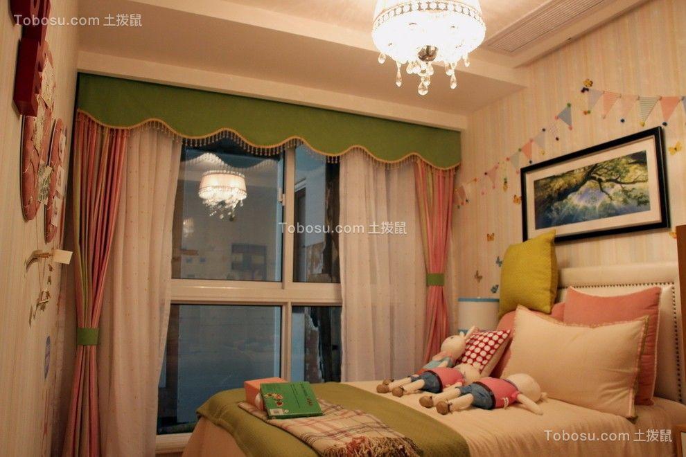 卧室白色床头柜现代风格效果图