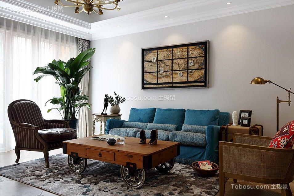 美式风格500平米别墅室内装修效果图