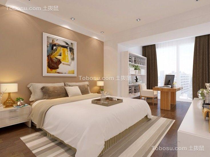 卧室 床_三利云锦180平米四居室欧式风格装修效果图