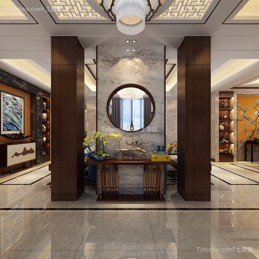太原摩天石300平米新中式风格效果图