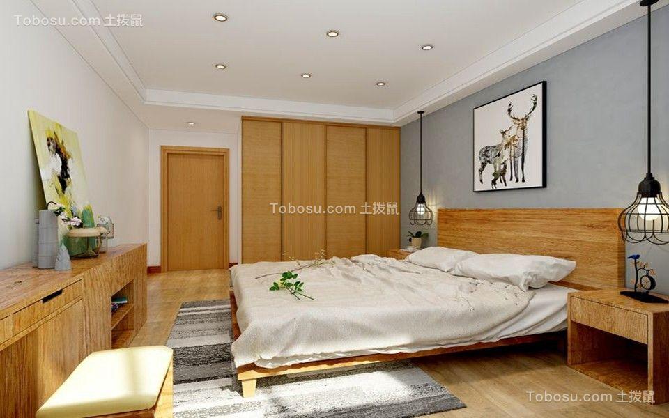 卧室背景墙北欧风格装潢设计图片图片