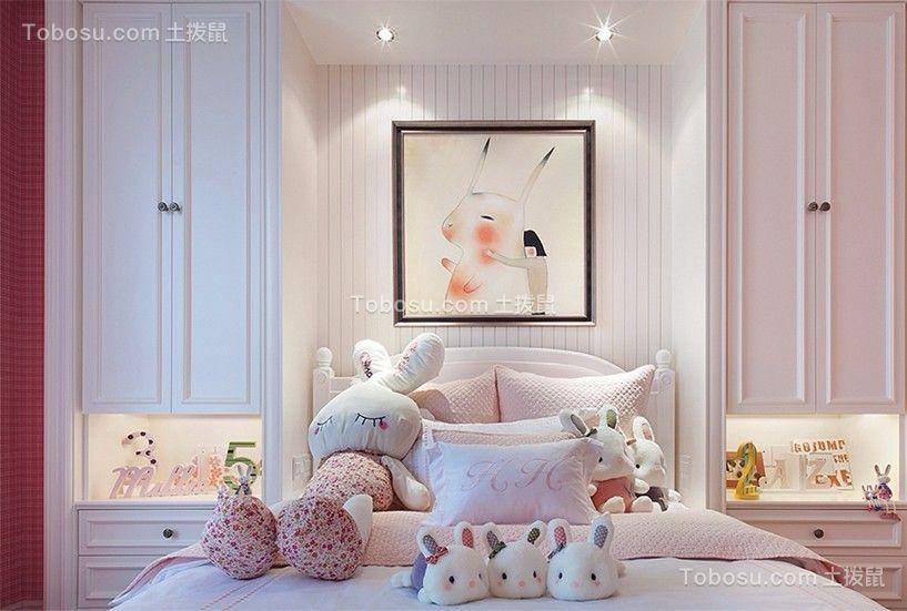 新希望皇冠国际160平米四居室现代简欧风格装修效果图