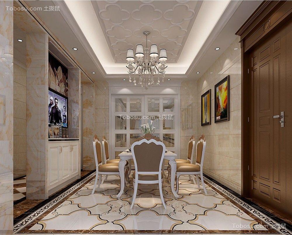 万科信成道230㎡五居室欧式风格装修效果图