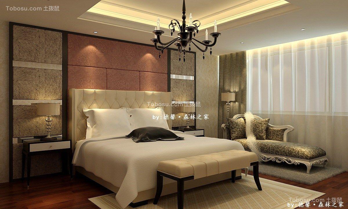 300平米简欧风格六居室别墅装修效果图