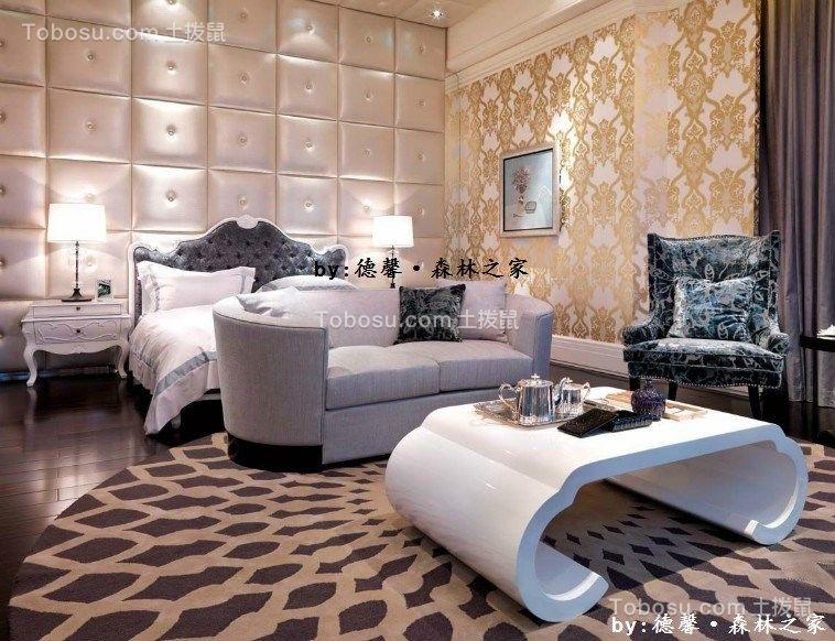 180平米高档简欧风格四居室装修效果图