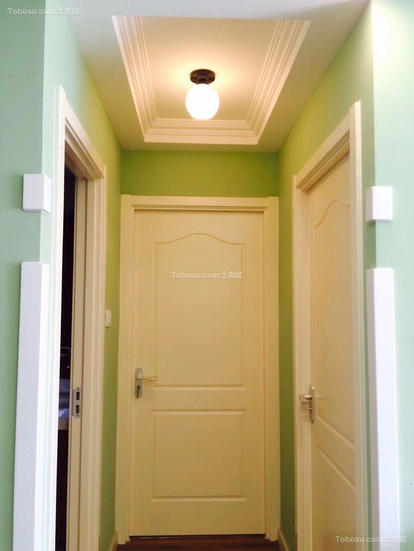 玄关白色门厅简约风格装饰效果图