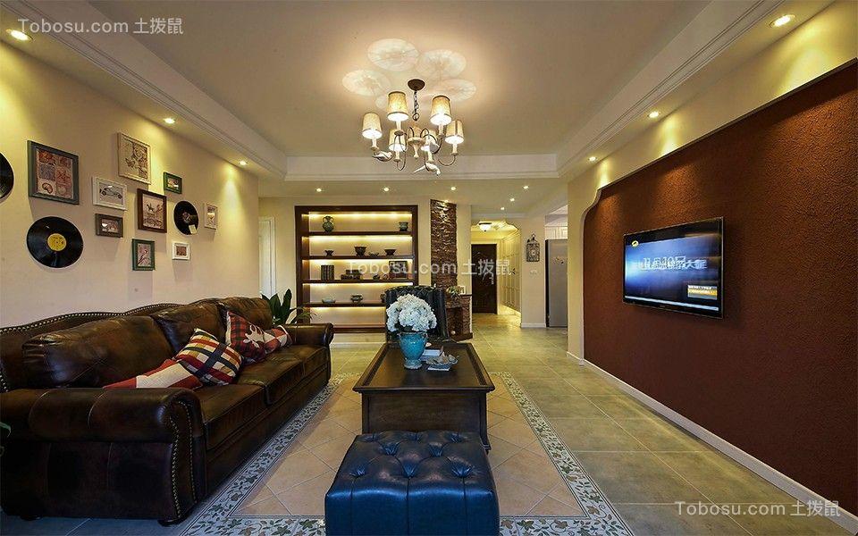 地中海风格220平米别墅新房装修效果图