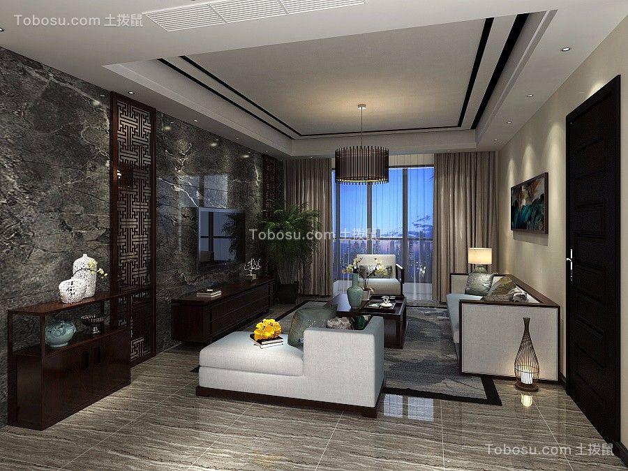 30万预算180平米三室两厅装修效果图