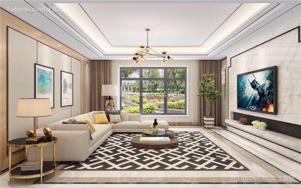 100~120m²/简约/楼房装修设计