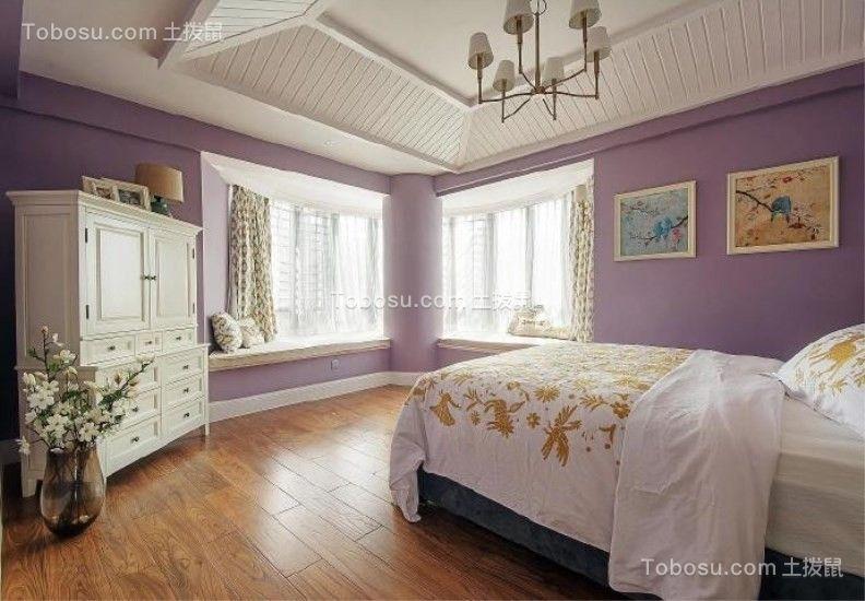 卧室白色衣柜混搭风格装饰图片