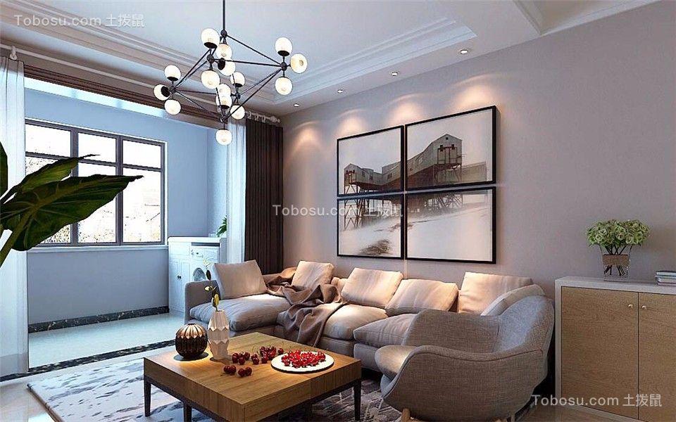 阳台米色地砖现代简约风格装潢效果图