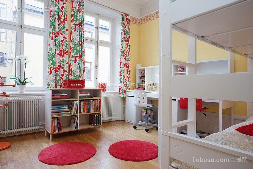卧室白色床欧式风格装潢图片