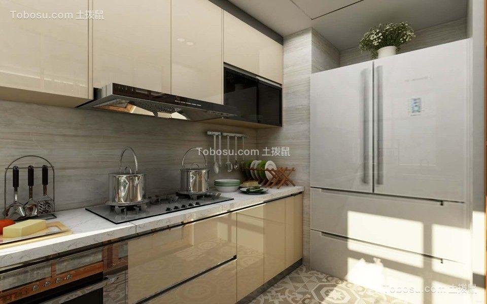 厨房米色细节现代简约风格装潢图片