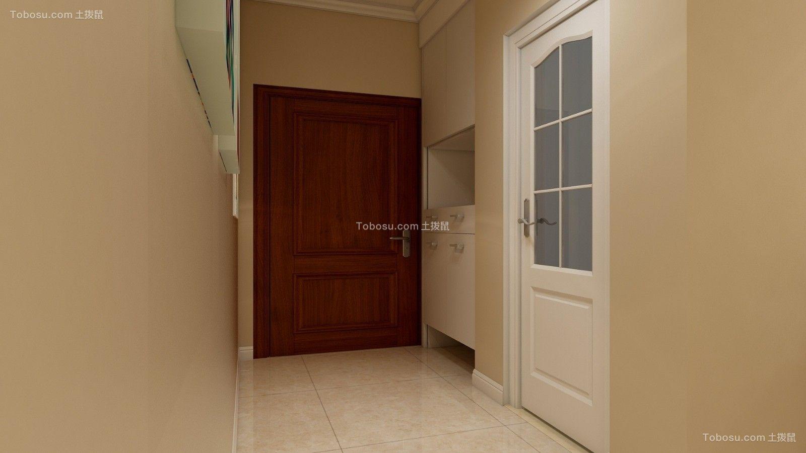 客厅黄色细节简约风格装饰效果图