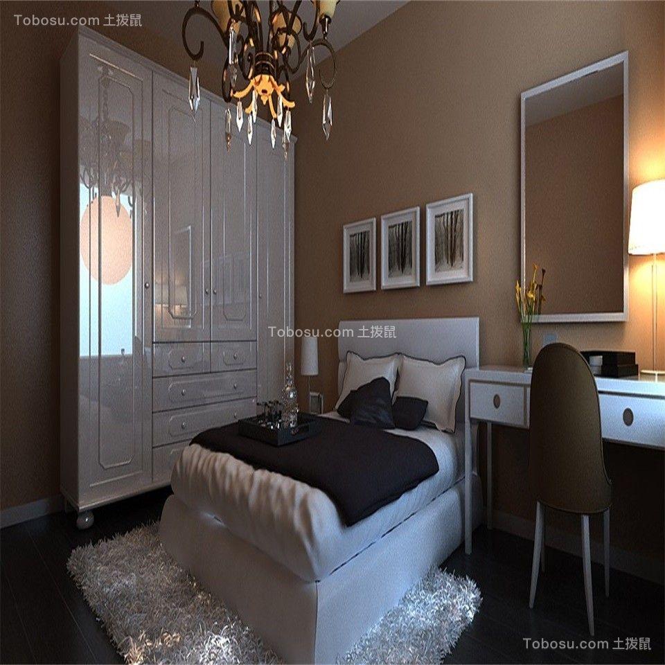 2020乡村卧室装修设计图片 2020乡村梳妆台装修设计