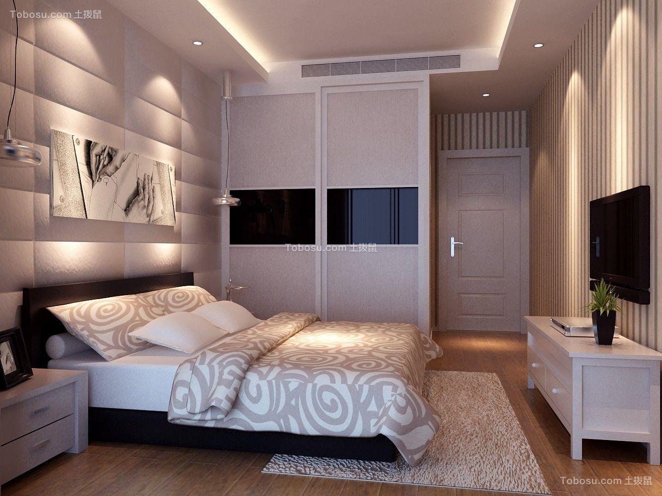 200平米现代四居装修效果图