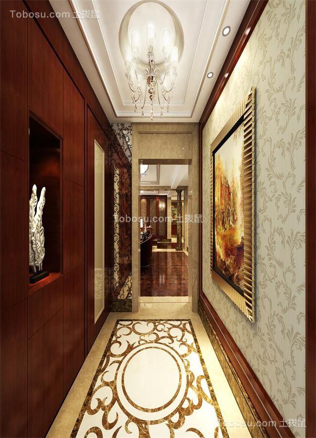 2020古典玄关图片 2020古典门厅装修效果图大全