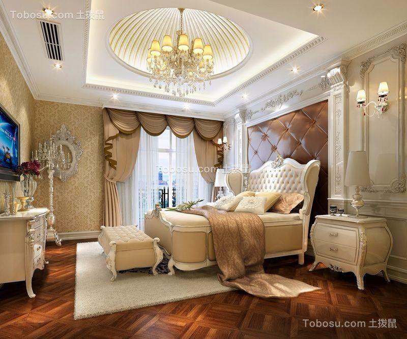 欧式风格260平米三居室室内装修效果图