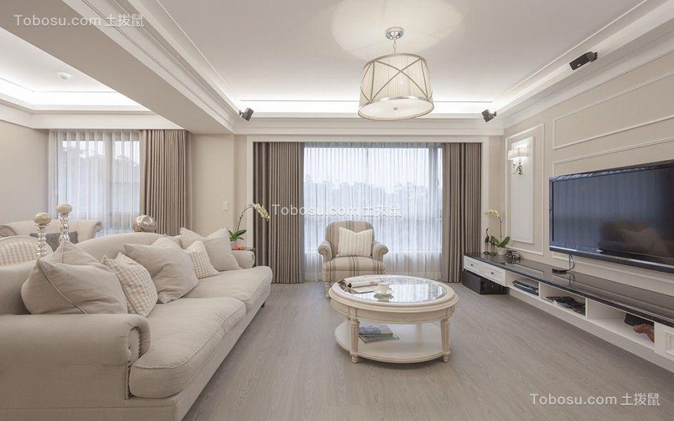 220平米法式六室三厅三卫装修效果图