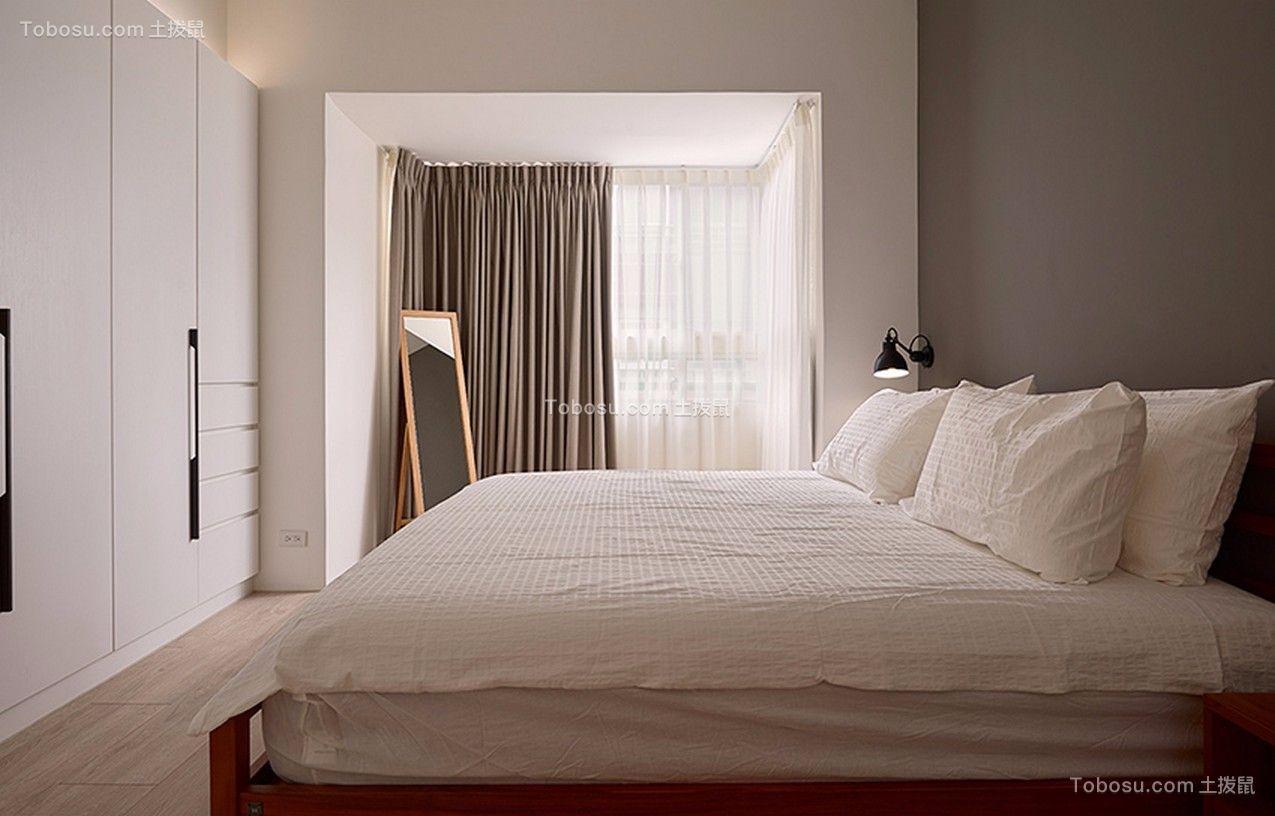 卧室白色细节现代简约风格装修效果图