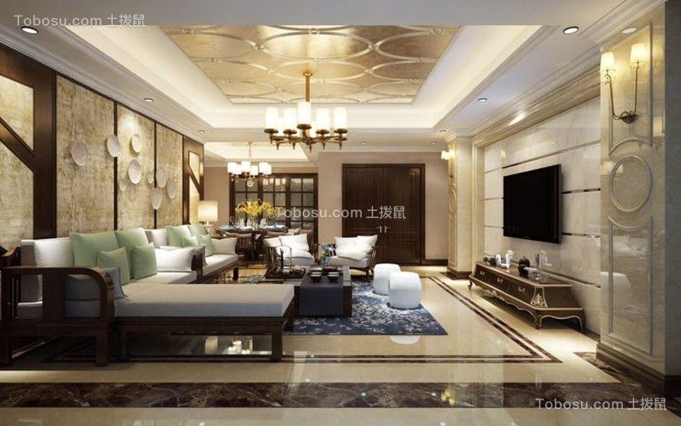 100~120m²/新中式/三居室装修设计