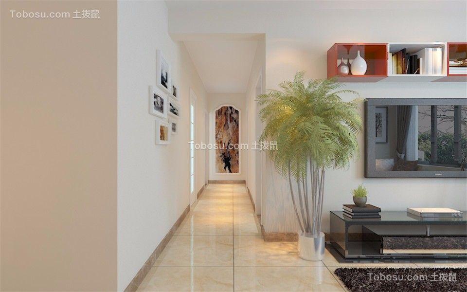 玄关彩色照片墙现代简约风格装饰效果图