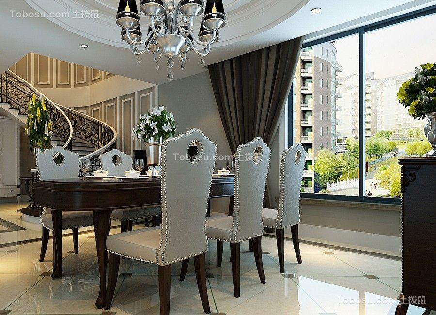 客厅咖啡色沙发现代风格装修设计图片_土拨鼠装修效果图片