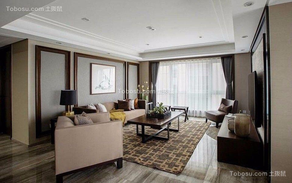 23万预算187平米四室两厅装修效果图