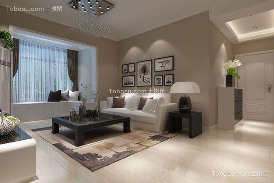 12万预算130平米三室两厅装修效果图