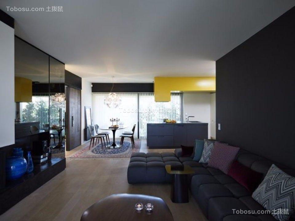 18万预算110平米三室两厅装修效果图