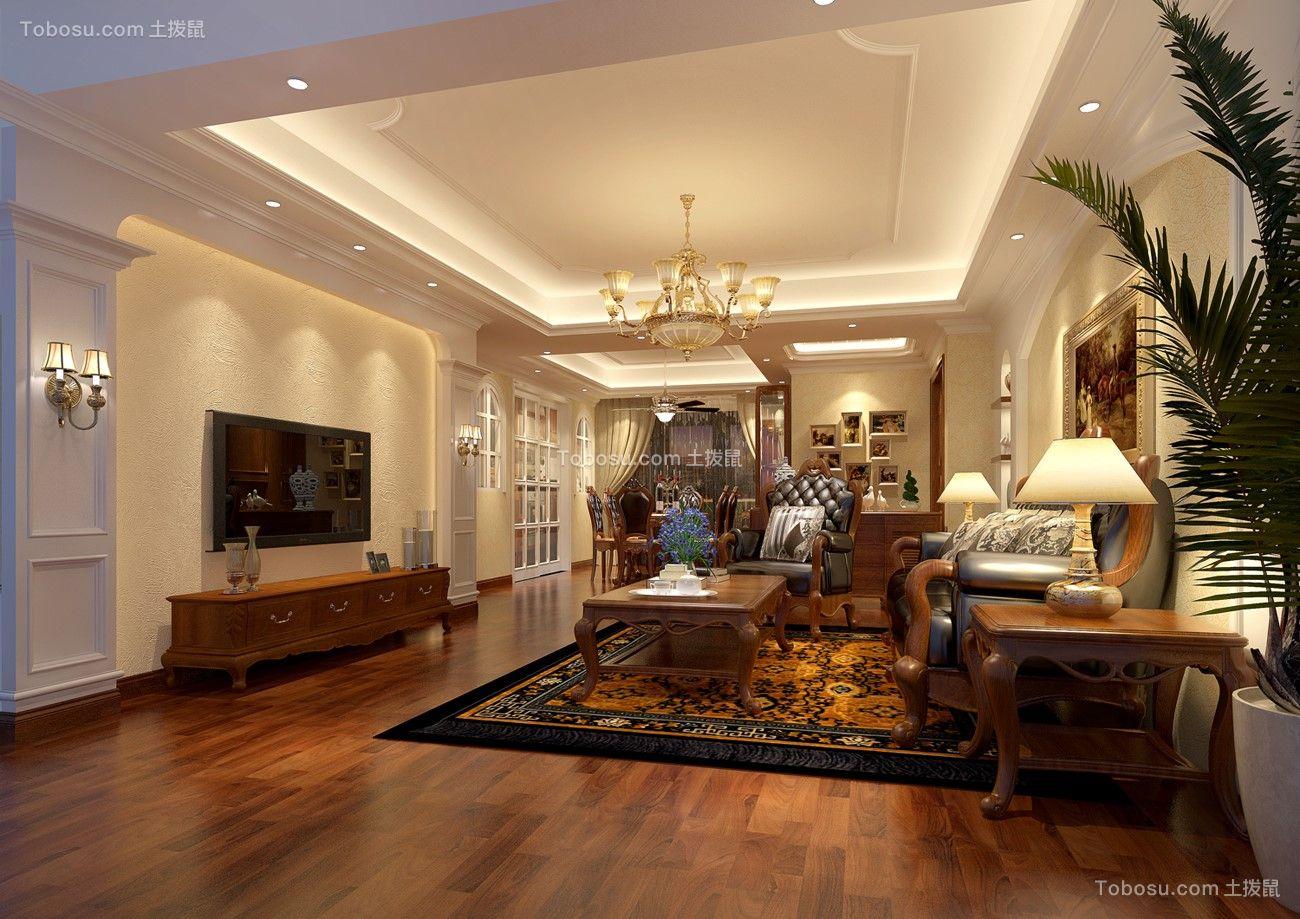 18万预算138平米四室两厅装修效果图