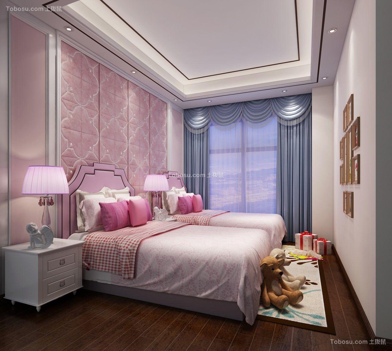 2019新中式儿童房装饰设计 2019新中式照片墙装修效果图大全