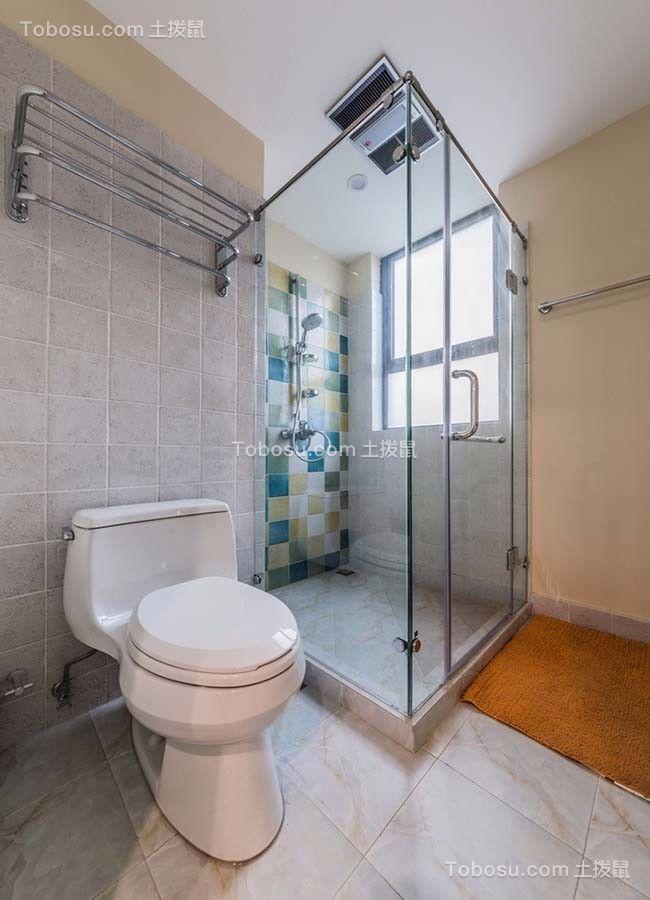 2019美式浴室设计图片 2019美式地砖设计图片
