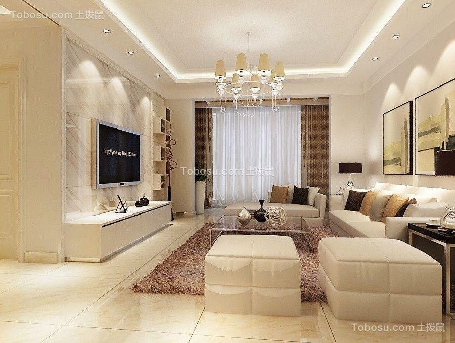 60~80m²/现代/套房装修设计