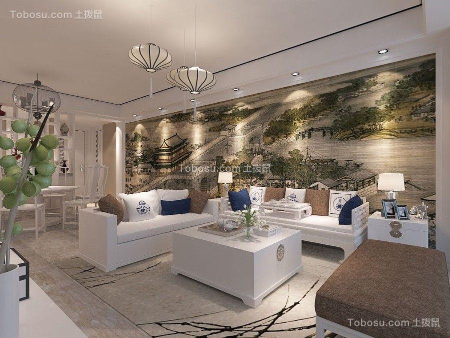 100~120m²/现代/套房装修设计