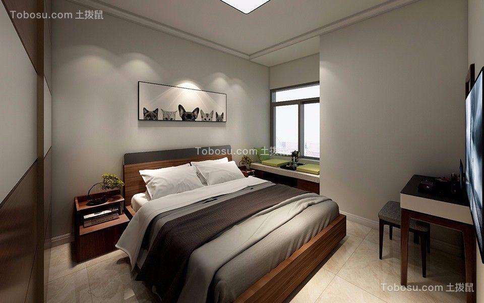 淡雅卧室现代简约装修案例