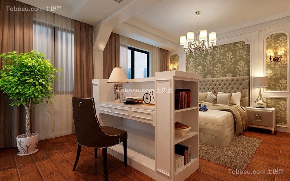 卧室白色灯具新古典风格装饰效果图