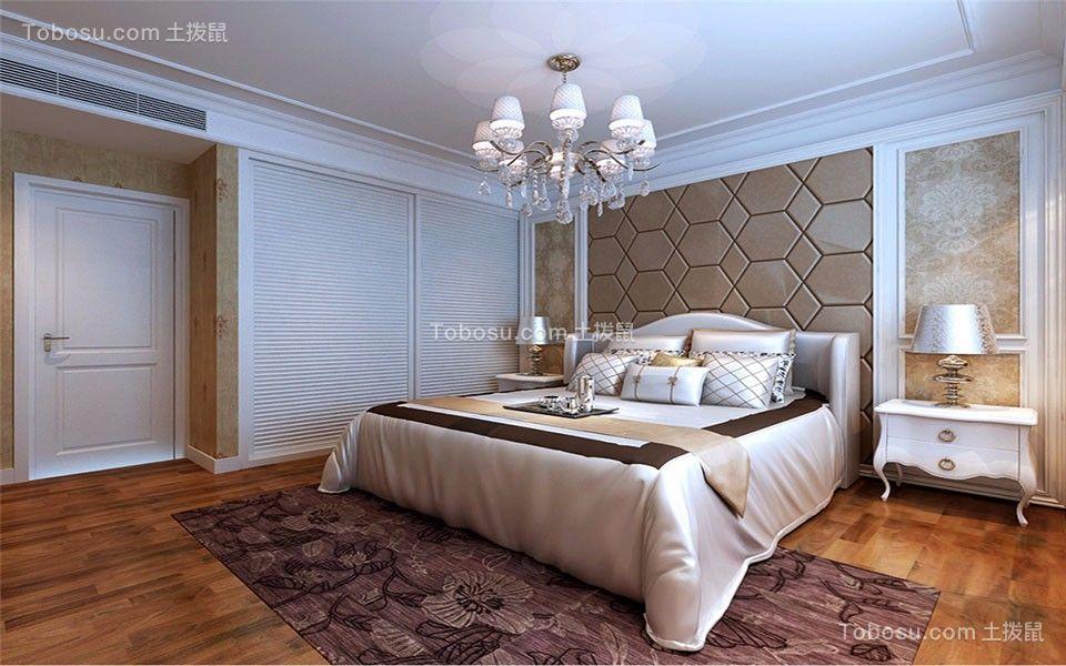 2018简欧卧室装修设计图片 2018简欧床头柜装修设计图片