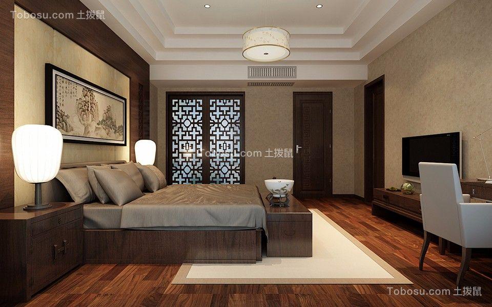 中式风格96平米?#35789;?#26032;房装修效果图