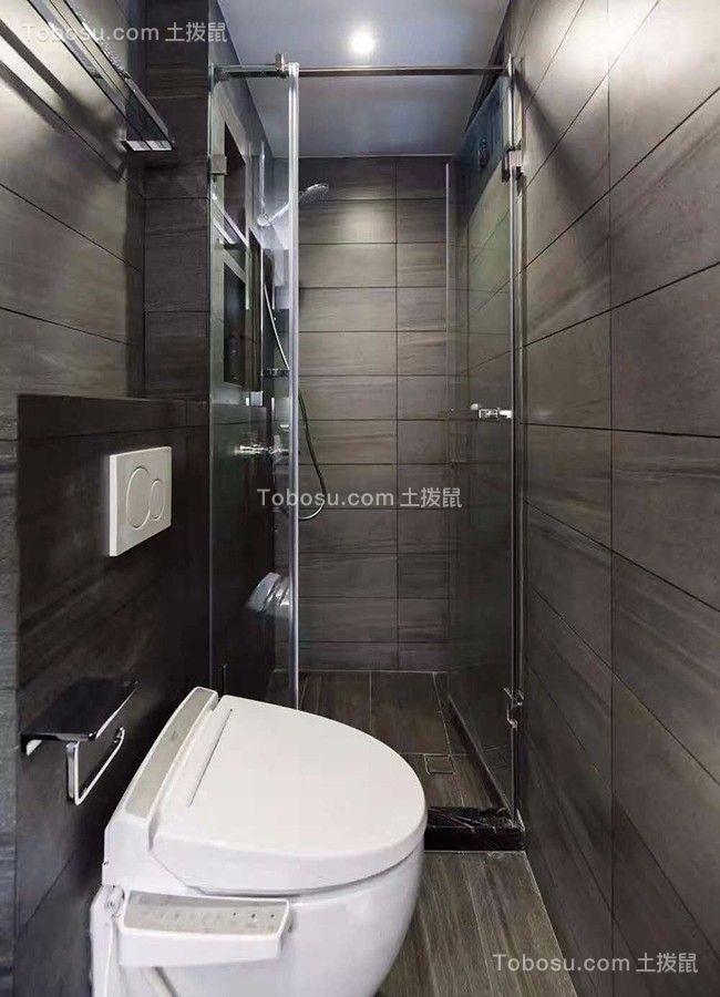 2019现代浴室设计图片 2019现代地砖装修效果图大全