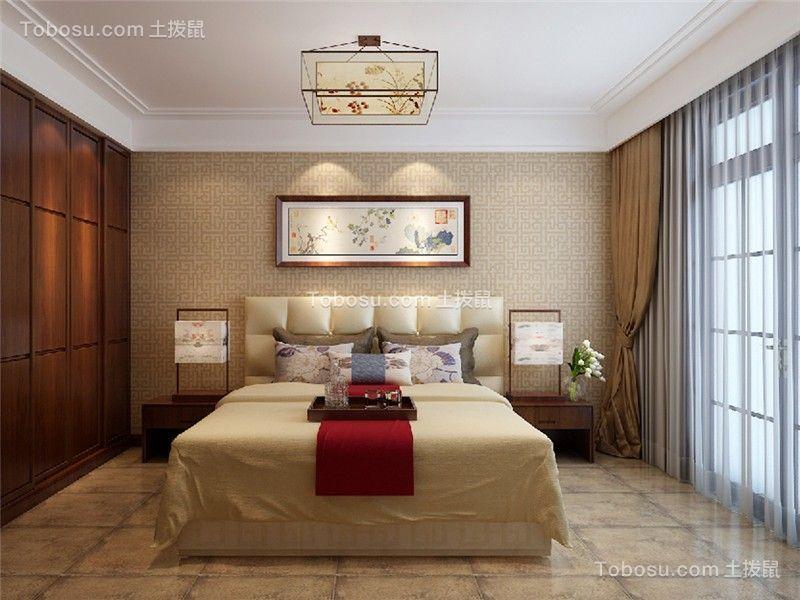 创意卧室窗帘设计效果图