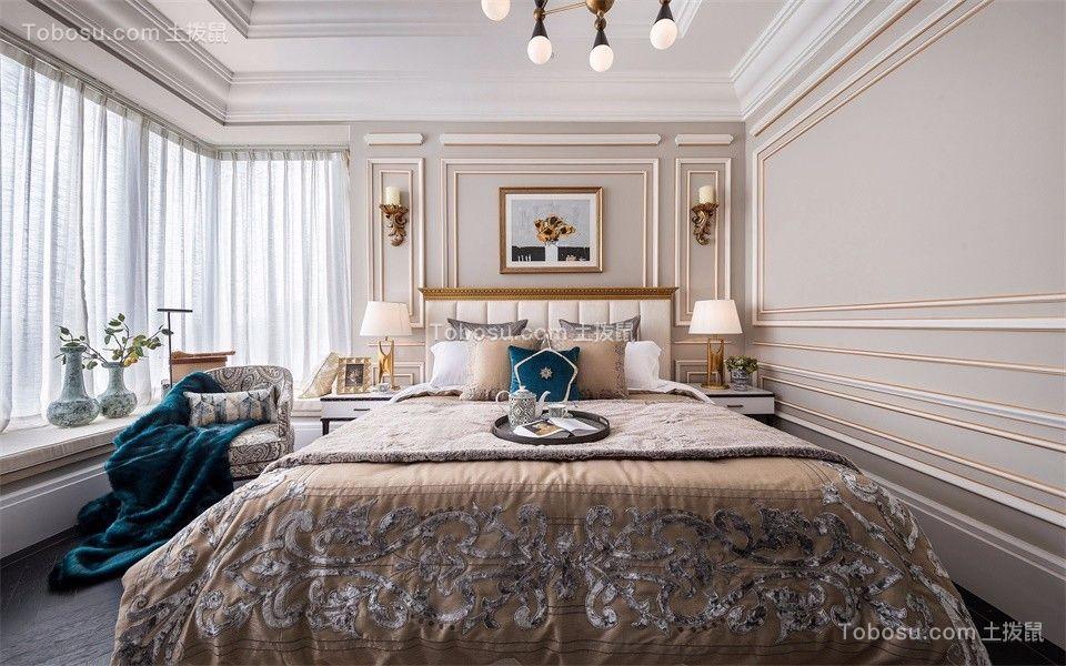 卧室窗帘欧式装修设计