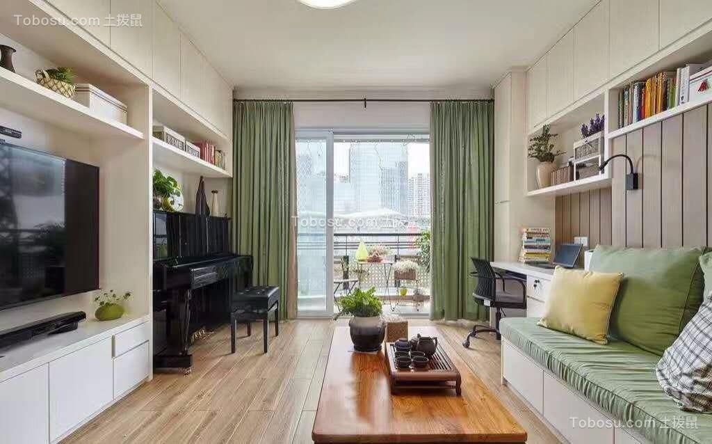 130平现代风格三居室装修效果图