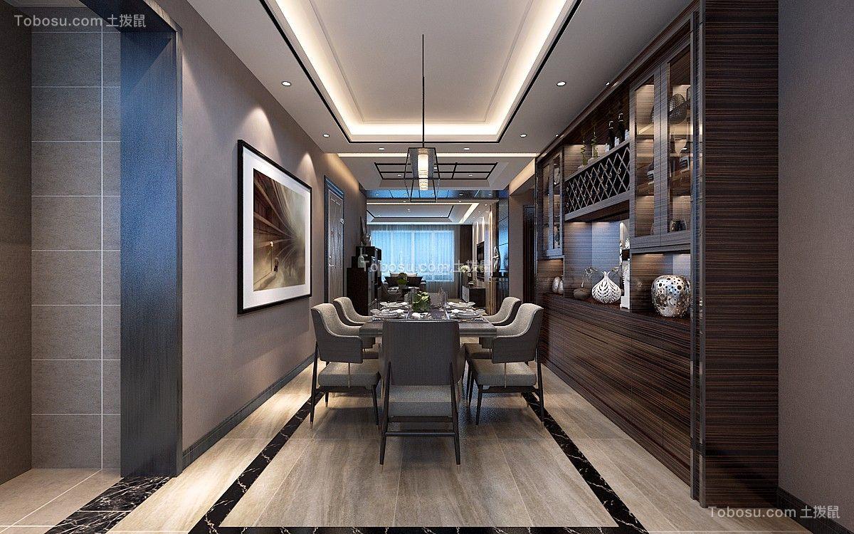 现代简约风格60平米公寓室内装修效果图