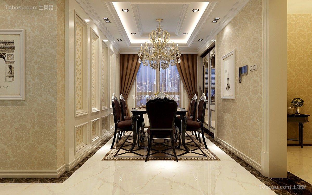 80~100m²/欧式/三居室装修设计