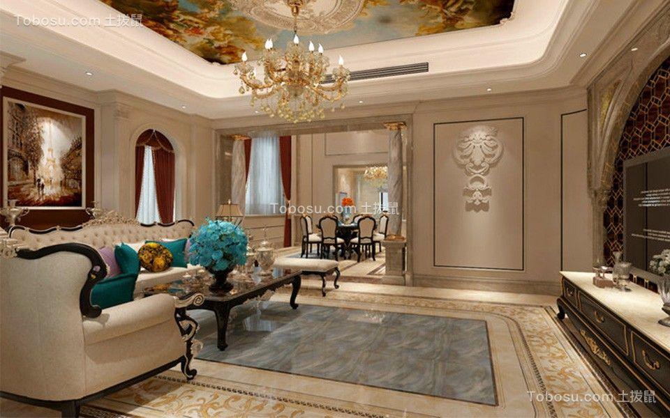 450平米欧式风格别墅装修效果图