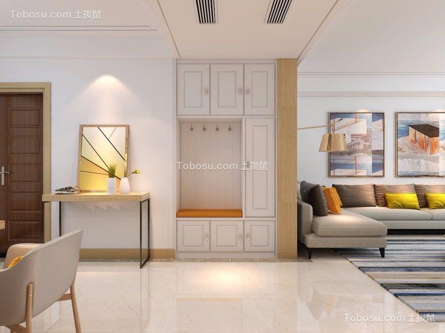 130平米新中式复式房装修效果图图片