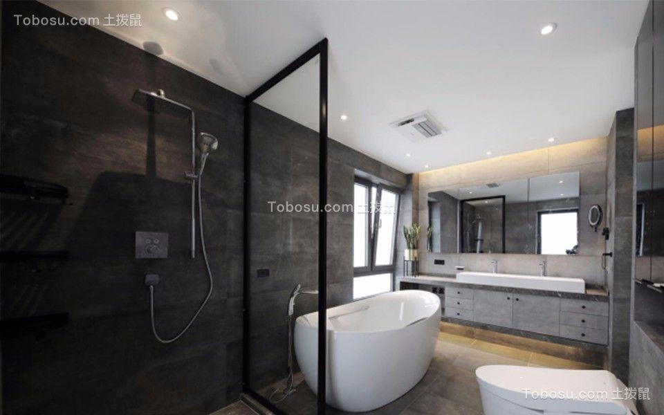 卫生间 洗漱台_北欧风格220平米四室两厅新房装修效果图