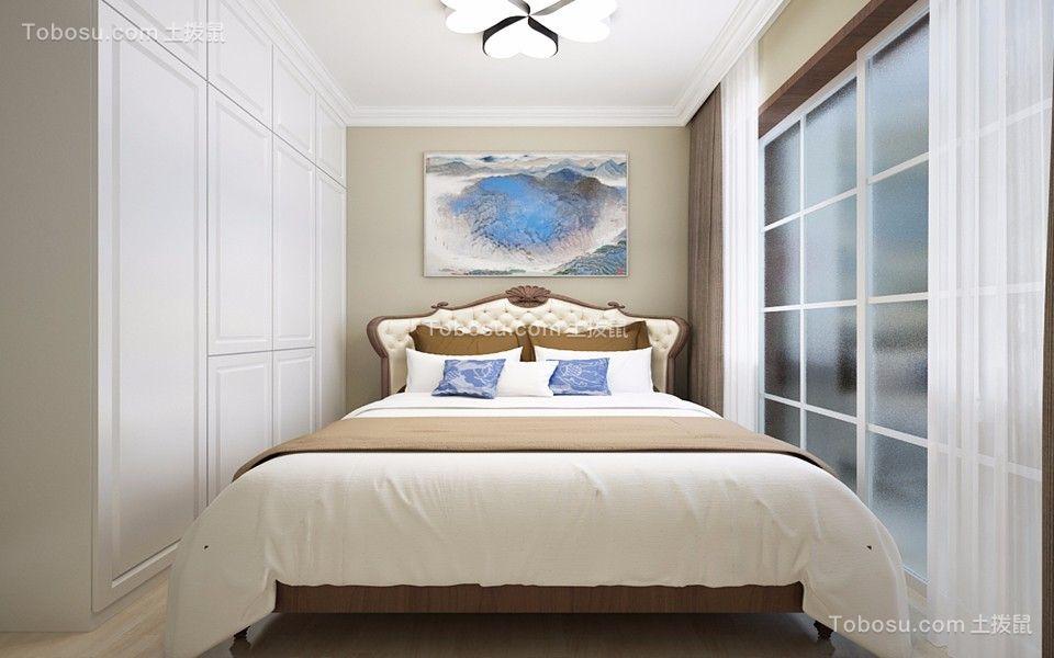 现代简约风格147平米三室两厅新房装修效果图