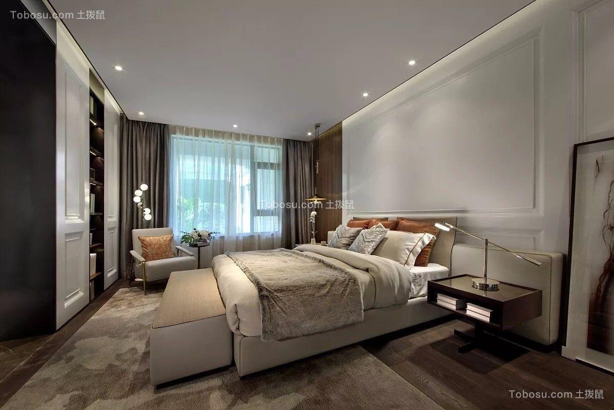 2018现代简约卧室装修设计图片 2018现代简约设计图片
